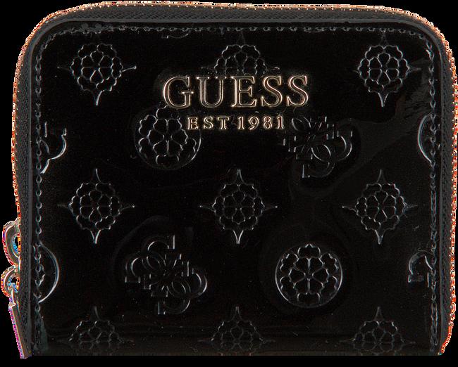 Zwarte GUESS Portemonnee PEONY CLASSIC SLG  - large