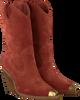 Bruine BRONX Enkellaarsjes NEW-KOLE 34139  - small