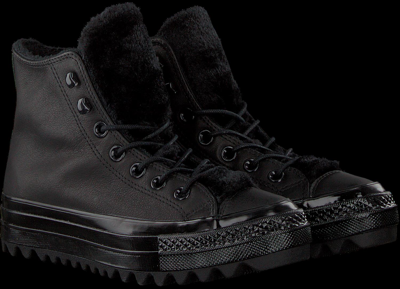 143055a6e03 Zwarte CONVERSE Sneakers CHUCK TAYLOR ALL STAR LIFT RIP - Omoda.nl