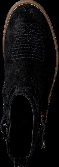 Zwarte CLIC! Enkellaarsjes 9201  - large