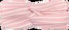 Roze MY JEWELLERY Haarband HAARBAND MET STREPEN  - small