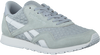 Grijze REEBOK Sneakers CL NYLON SLIM  - small
