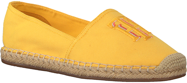 Gele TOMMY HILFIGER Espadrilles NAUTICAL TH BASIC  - large