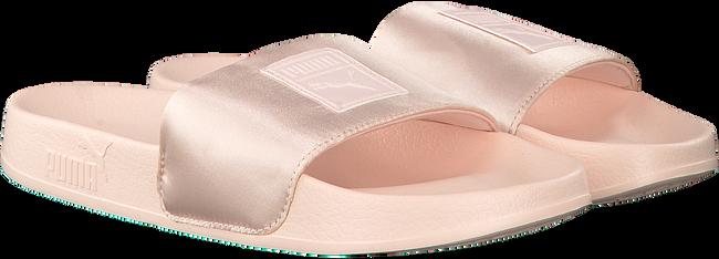 Roze PUMA Slippers LEADCAT SATIN WMNS  - large