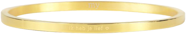 Gouden MY JEWELLERY Armband IK HEB JE LIEF - large