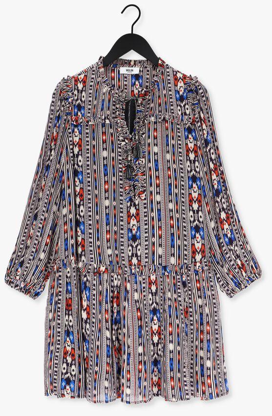 Multi MOLIIN Mini jurk LUNA  - larger