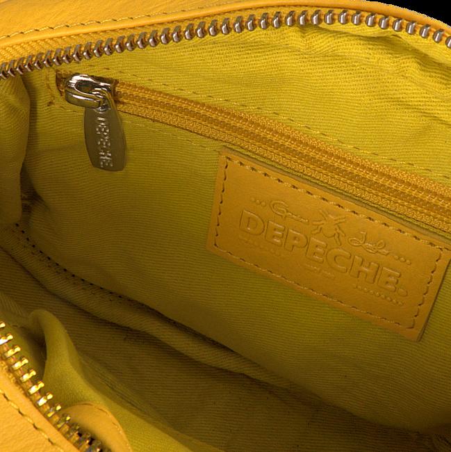Gele DEPECHE Heuptas BELT BAG 13372 - large