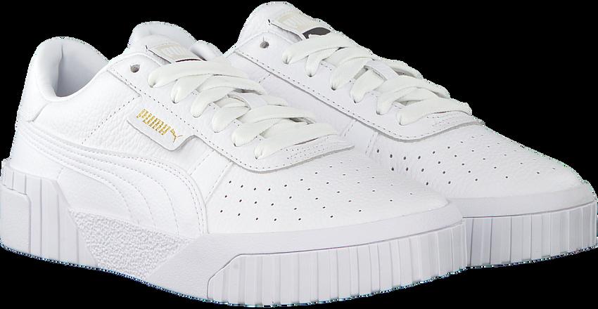 Witte PUMA Sneakers CALI - larger