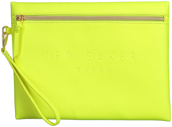 Gele TED BAKER Clutch IVAR  - large