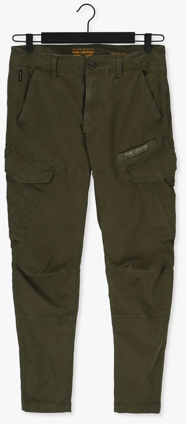 Donkergroene PME LEGEND Chino CARGO PANTS STRETCH TWILL CARG - larger