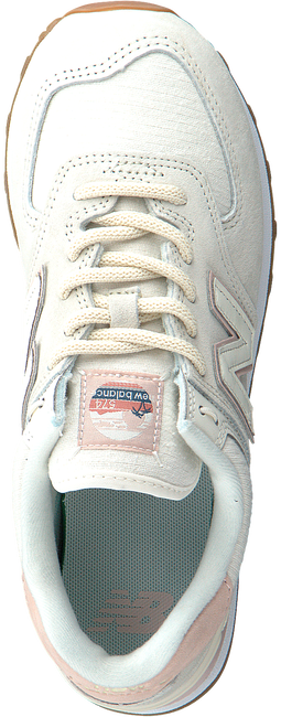 Witte NEW BALANCE Lage sneakers WL574  - large