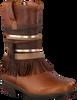 Cognac KANJERS Lange laarzen 5228RP  - small