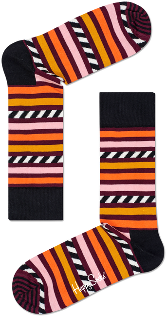 HAPPY SOCKS SOKKEN STRIPE & STRIPE SOCK - large