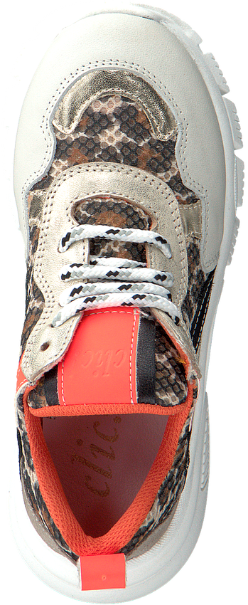 Gouden CLIC! Lage sneakers CL-20115  - larger