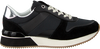 Zwarte TOMMY HILFIGER Sneakers MIXED MATERIAL LIFESTYLE SNEAK  - small