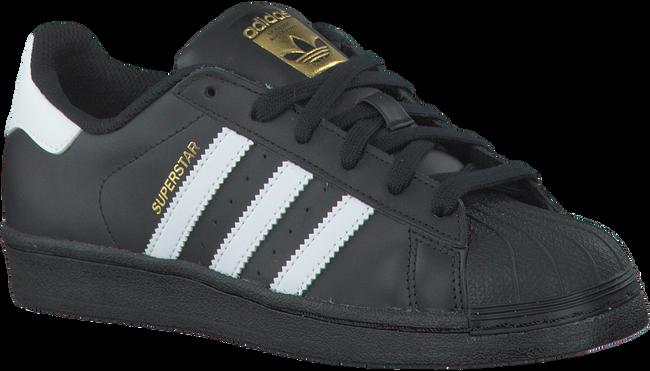 Zwarte ADIDAS Sneakers SUPERSTAR DAMES  - large