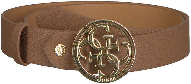 Cognac GUESS Riem ADJUSTABLE PANT BELT  - large