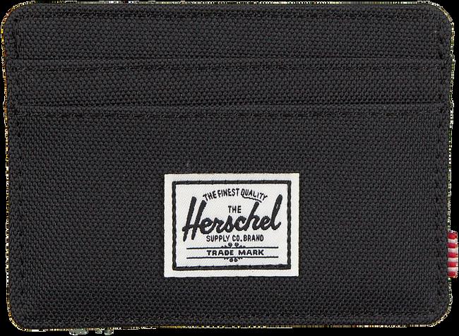 Zwarte HERSCHEL Portemonnee CHARLIE - large