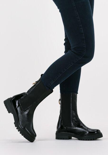 Zwarte OMODA Chelsea boots LPMONK-05  - large