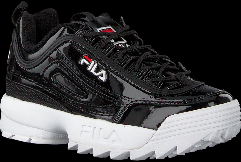 d7955bd5b4d Zwarte FILA Sneakers DISRUPTOR M LOW - Omoda.nl