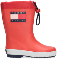 Rode TOMMY HILFIGER Regenlaarzen RAIN BOOT  - medium