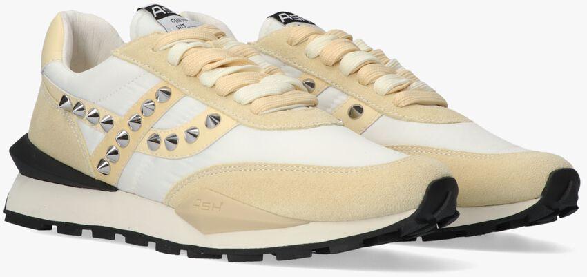 Pastelgele ASH Lage sneakers SPIDER STUD - larger