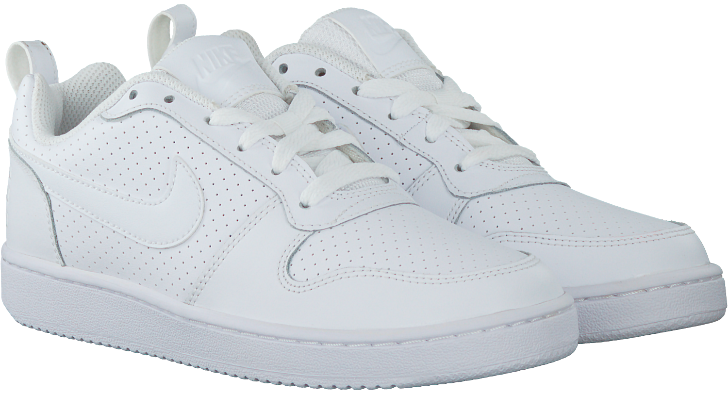 Witte NIKE Sneakers COURT BOROUGH LOW WMNS | Omoda