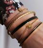 Gouden MY JEWELLERY Armband ARMBAND BEDEL MI AMORE  - small