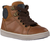 Cognac OMODA Hoge sneaker OM120717  - small