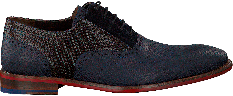 Chaussures Habillées Bleu Floris Van Bommel 19103 bzWan