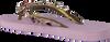 Paarse UZURII Slippers HEART BRONZE - small