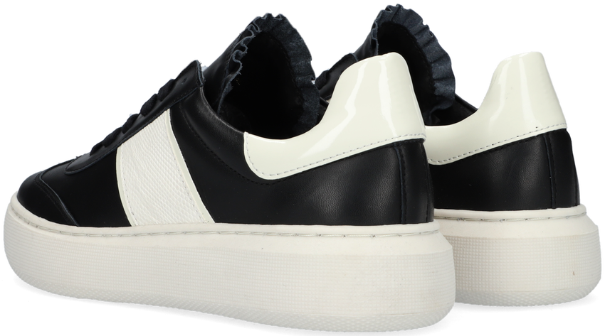Zwarte TANGO Lage sneakers INGEBORG  - larger