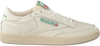 Beige REEBOK Sneakers CLUB C 1985 TV  - small