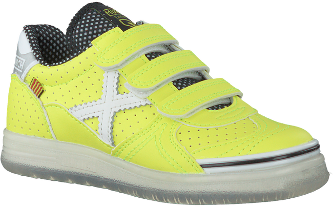 Gele MUNICH Sneakers G3 VELCRO - large