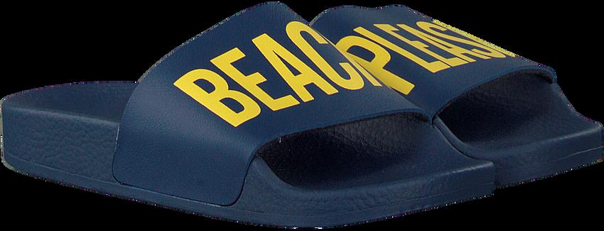 Blauwe THE WHITE BRAND Slippers BEACH MINIMAL KIDS  - larger