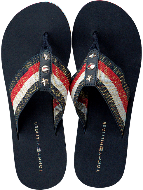 blauwe TOMMY HILFIGER Slippers ELEVATED CORPORATE BEACH SANDA  - large