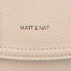 Beige MATT & NAT Schoudertas PURITY CROSSBODY  - small