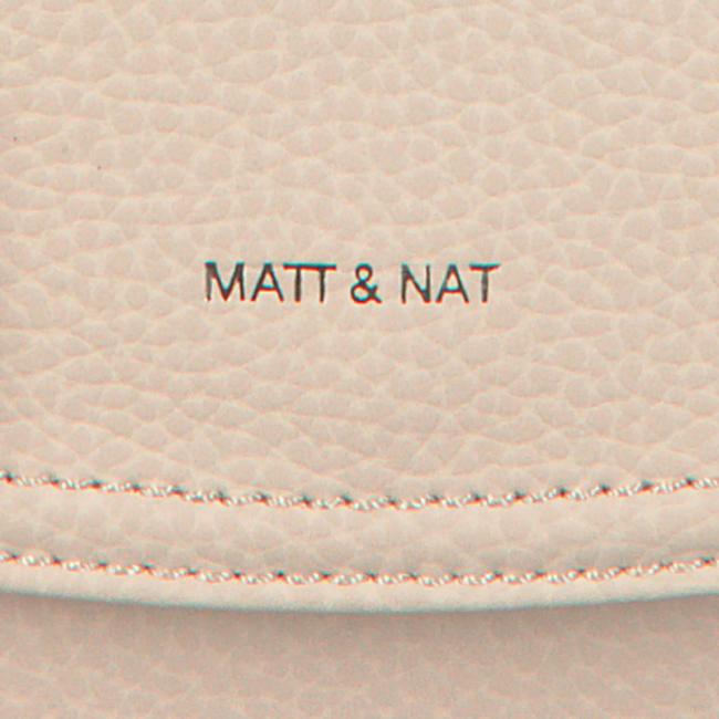 Beige MATT & NAT Schoudertas PURITY CROSSBODY  - large