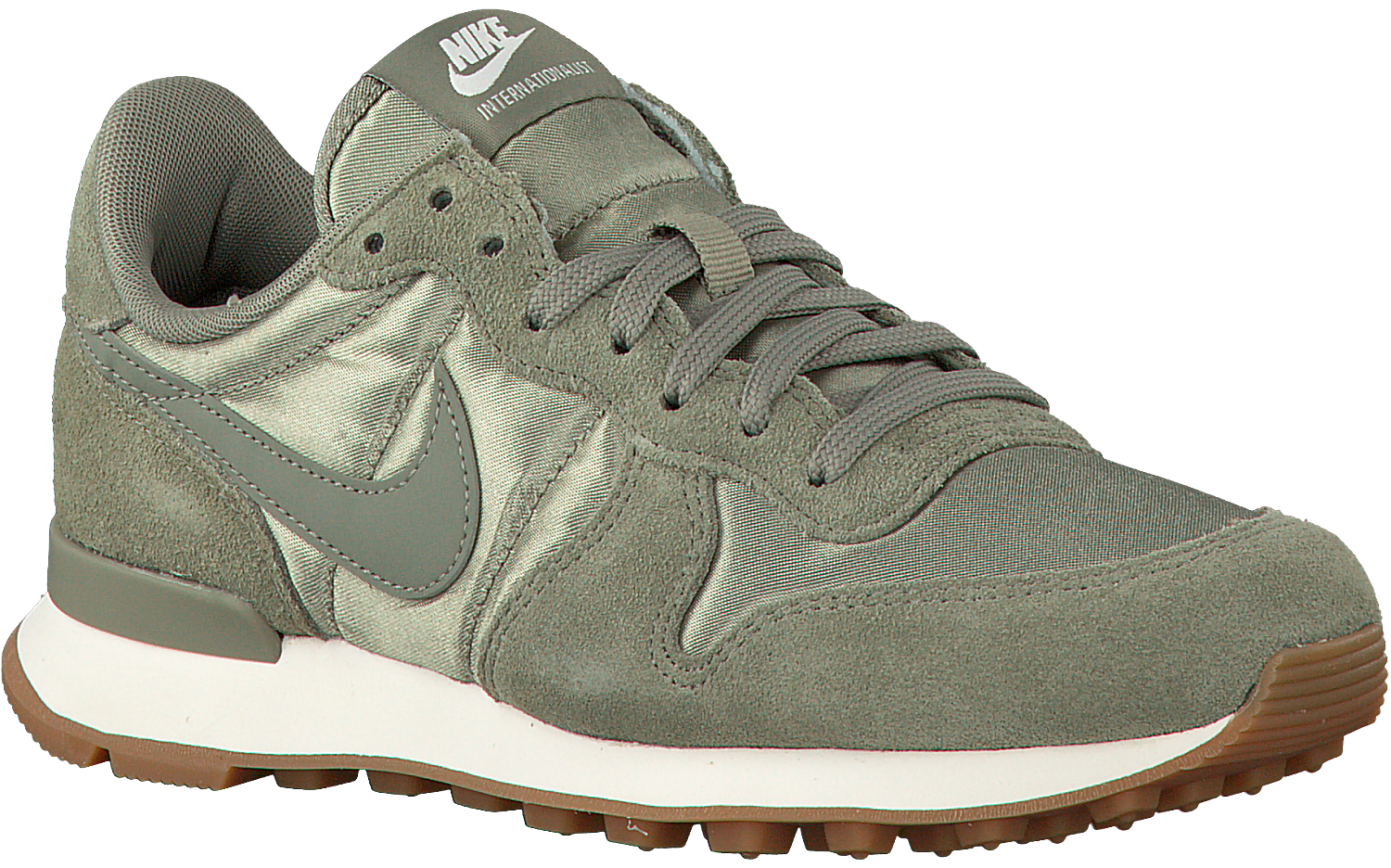 Groene NIKE Sneakers INTERNATIONALIST WMNS