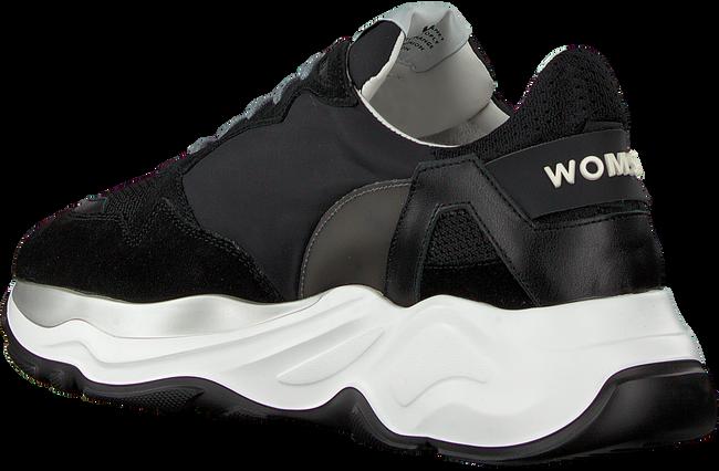 Zwarte WOMSH Lage sneakers FUTURA HEREN - large