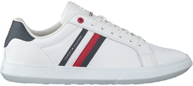 Witte TOMMY HILFIGER Lage sneakers ESSENTIAL CUPSOLE