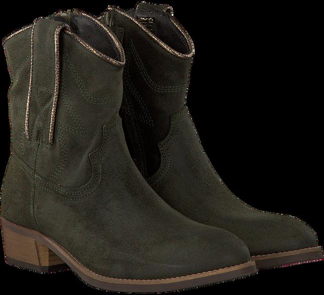 Groene HIP Lange laarzen H1843  - large