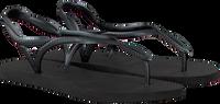 Zwarte HAVAIANAS Slippers LUNA  - medium