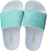 Groene THE WHITE BRAND Slippers GLITTER MATTE  - small