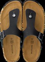 Zwarte MAZZELTOV. Slippers 19-0007  - medium