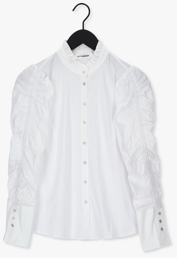Witte CO'COUTURE Blouse SANDY ELASTIC SLEEVE SHIRT  - larger