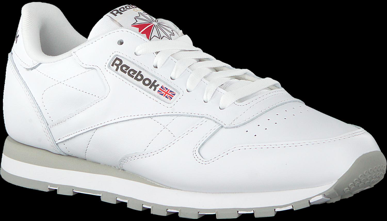 Witte REEBOK Sneakers CL LTHR MEN Omoda