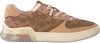 Bruine COACH Lage sneakers ADB SIG PVC COURT  - small