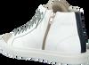 Witte P448 Hoge sneaker STAR2.0 MEN  - small