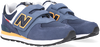 Blauwe NEW BALANCE Lage sneakers PV574  - small